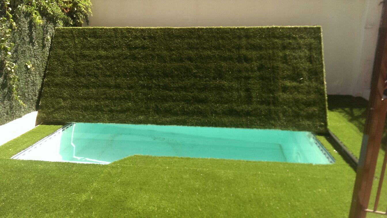 Piscinas con cesped artificial best csped artificial - Cesped artificial piscinas ...